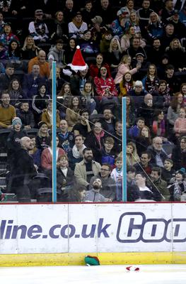 All over: Belfast Giants fans have watched their last game this season