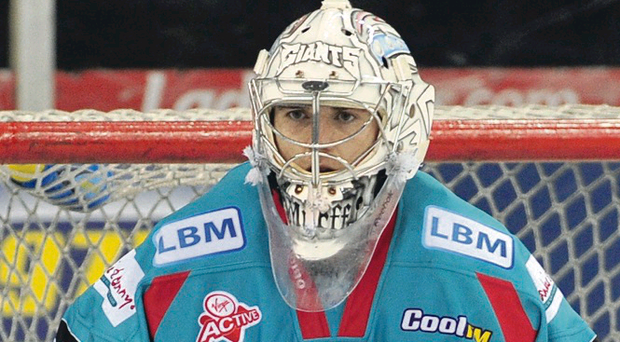 Key figure: Goaltender Stephen Murphy is vital to the Giants