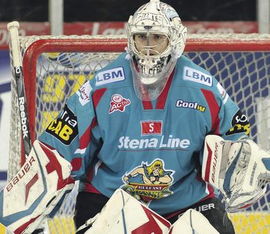 Shut-out: Goaltender Stephen Murphy was replaced before the Fife Flyers scored their only goal in the 5-1 defeat