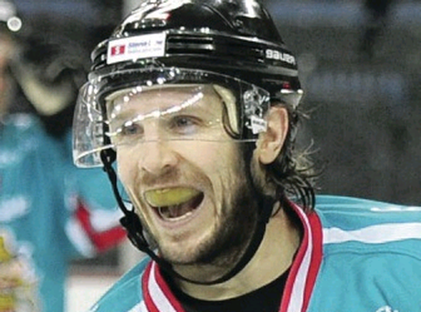 Goal machine: Kevin Saurette scored for the Belfast Giants
