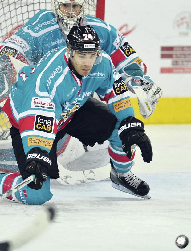 Calvin Elfring believes the Giants have to send a statement of intent after their recent below-par performances since securing the Elite League crown