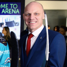 Support: Giants' Steve Thornton says Belfast would be the ideal host city