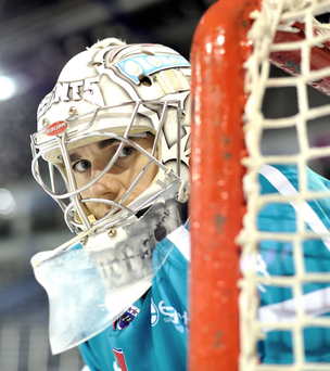 Call-up: Stephen Murphy will be back in goal for the Giants tonight