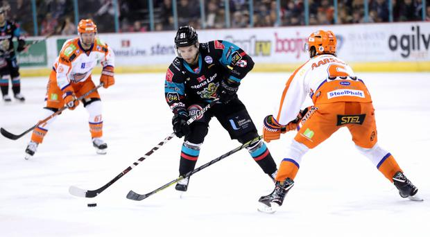 David Rutherford scored in the win over the Stars