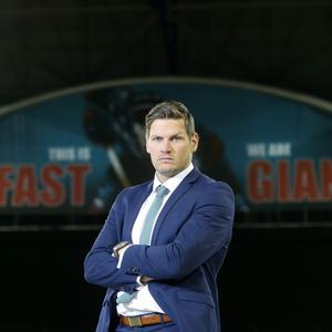 Belfast Giants coach Adam Keefe