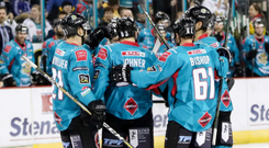 Euro bound: the Giants will be in next season's CHL where they could come up against defending champions Frolunda Indians of Sweden, led by forward Ryan Lasch