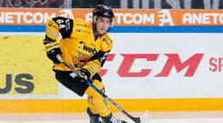 Attacking threat: David Goodwin is ready to put his speed and playmaking ability to use for the Belfast Giants