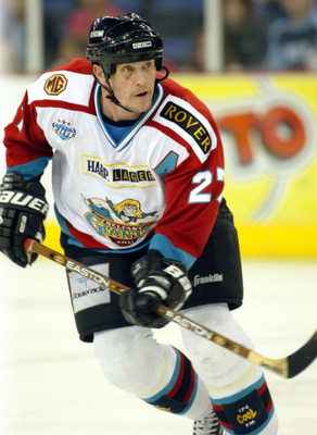 Paxton Schulte was one of the stars of the Belfast Giants team 20 years ago