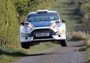 Powering on: Callum Devine will aim to make an impact at the front of Ulster Rally