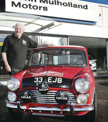 The famous Mini is still in pretty good nick today
