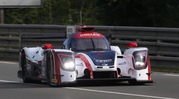 Loving Le Mans: Wayne Boyd got his first experience of the Sarthe circuit during his orientation laps last year