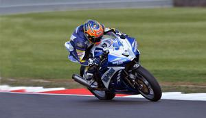 So close: Alastair Seeley narrowly missed out on the Supersport ChampionshipSeeley