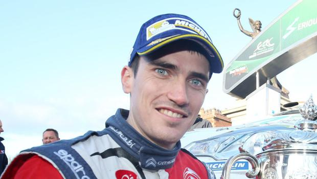 Big chance: Craig Breen will be out to impress in Sweden