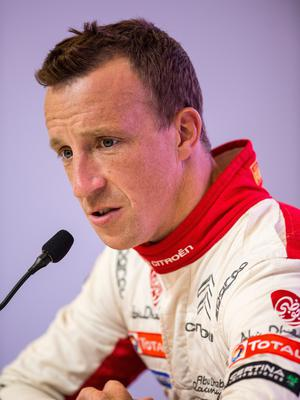 Ups and downs: Kris Meeke is hoping to make more progress