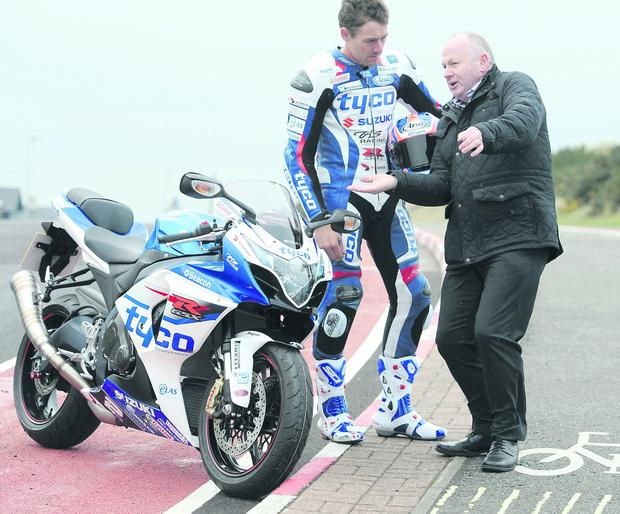 Mervyn White welcomes Josh Brookes