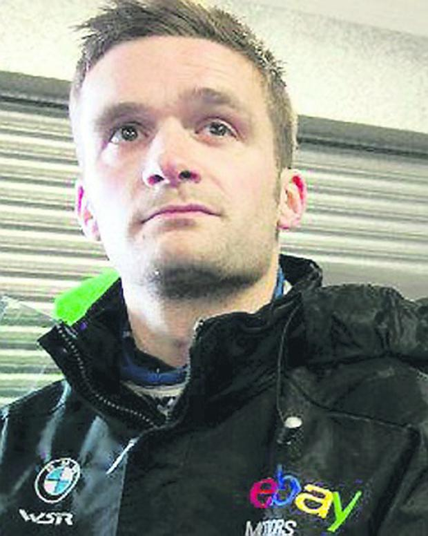 Colin Turkington is back in a touring car