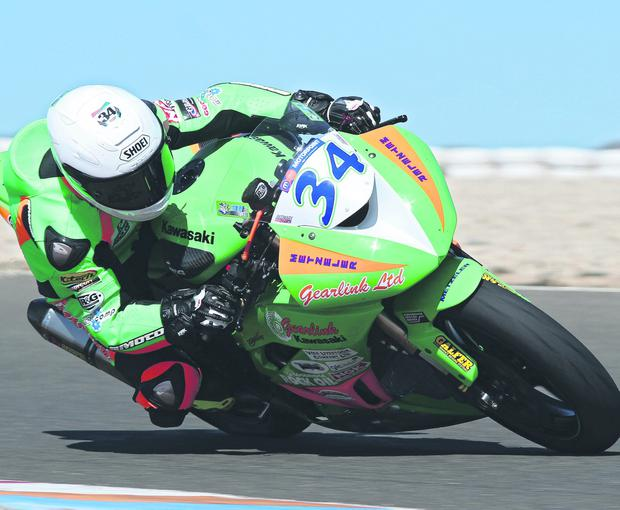 Alastair Seeley has high hopes for his Gearlink Kawasaki in this season's British Supersport championship