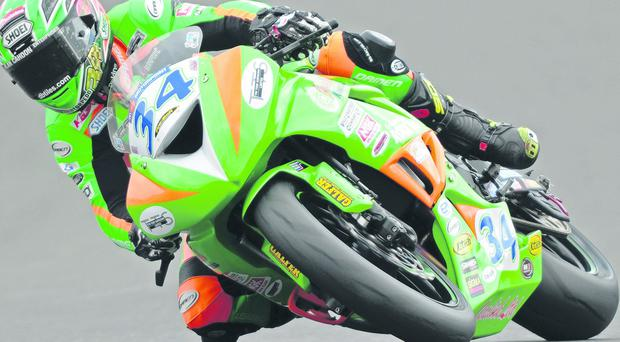 Alastair Seeley stormed to a memorable Supersport victory at the weekend