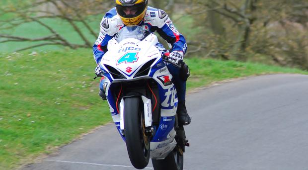 Guy Martin is plotting more quick times this season on his Tyco Suzuki