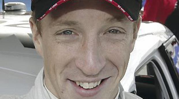 Race momentum: Kris Meeke has made a solid start