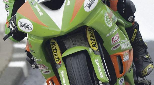 Super display: Alastair Seeley powered clear in race for British Supersport title with a win and a second place at Oulton Park