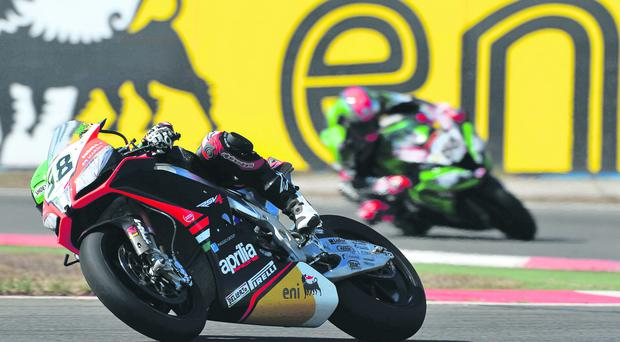Eugene Laverty needs a strong finish to the World Superbike season to clinch the title