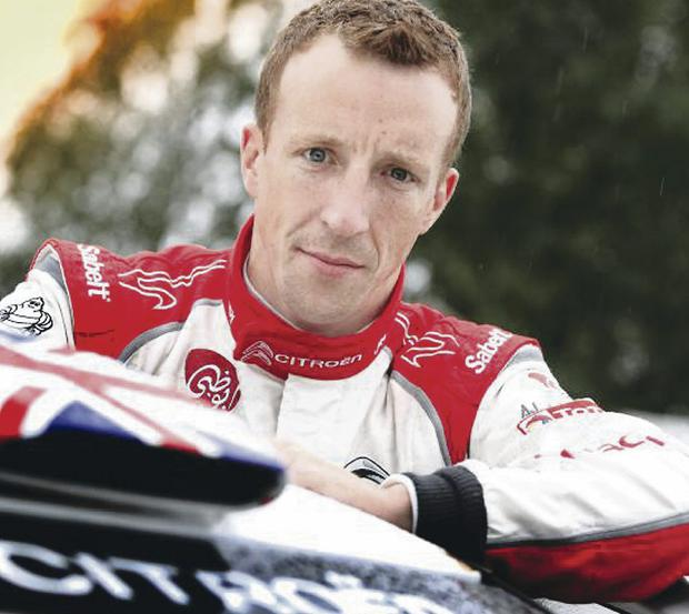 In the dark: Kris Meeke has no idea what his future holds