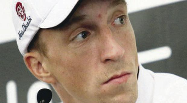 Second chance: Kris Meeke may get Citroen seat next year