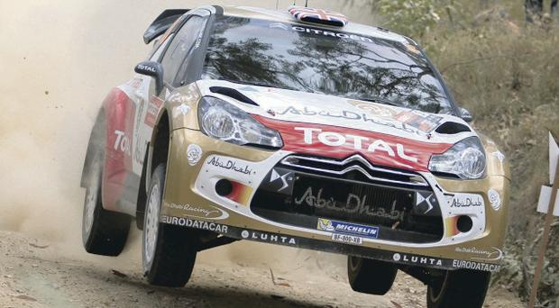 Kris Meeke was officially unveiled as Citroen's lead driver for the World rally championship