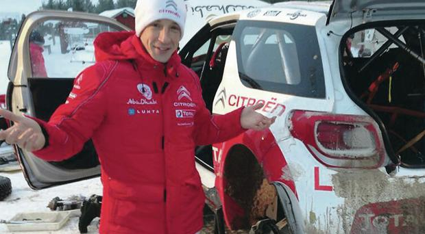 Kris Meeke's focus is on learning this week as he races on snow for the first time in his career