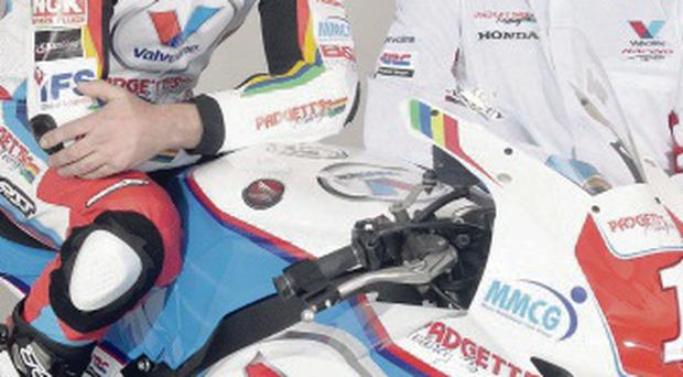 New deal: Bruce Anstey and John McGuinness