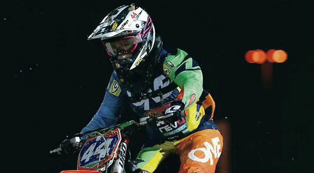 Off course: Natalie Kane will miss the rest of the Women's World Motocross Championship
