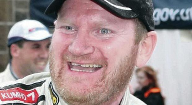 Trying his luck: Eugene Donnelly will race in the Ulster Rally