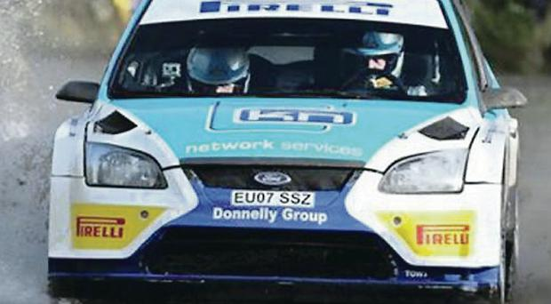 Heat of battle: Donagh Kelly is out of the Ulster International after his engine overheated at Clonmel over the weekend