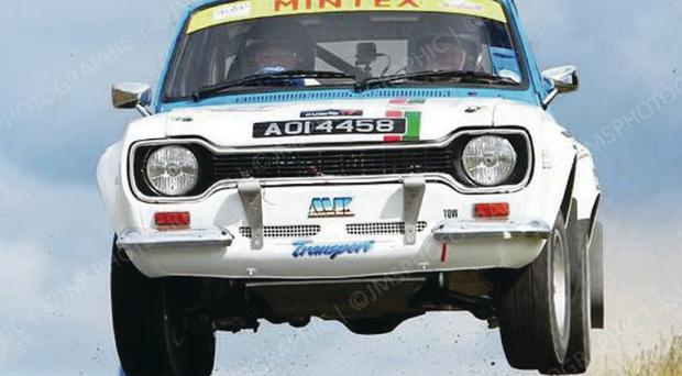 Horrid luck: Stanley Orr has always been a fan of the Ulster Rally despite enduring accidents and break downs at the event