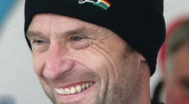 Title aim: Bruce Anstey has never won the Gold Cup Trophy