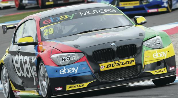 Road to success: Colin Turkington can win the BTCC title this weekend