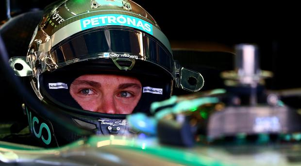 Still fighting: Nico Rosberg is optimistic of title success despite seeing his 29-point lead overturned into a 24-point deficit