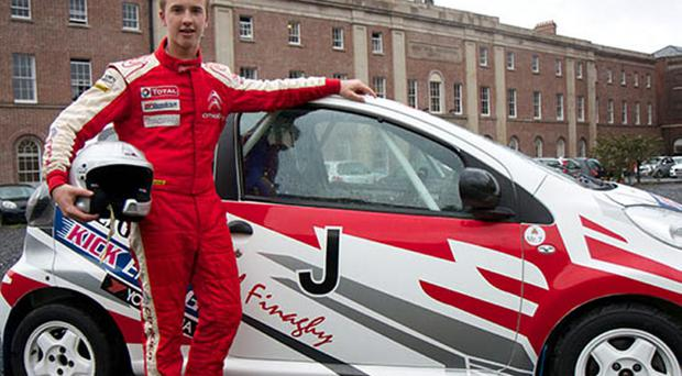 William Creighton is the Young Driver of the Year