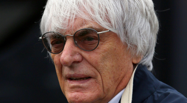 New plan: Bernie Ecclestone wants to reduce teams' costs