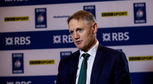 Step up: Joe Schmidt has set a challenge for his back-up stars