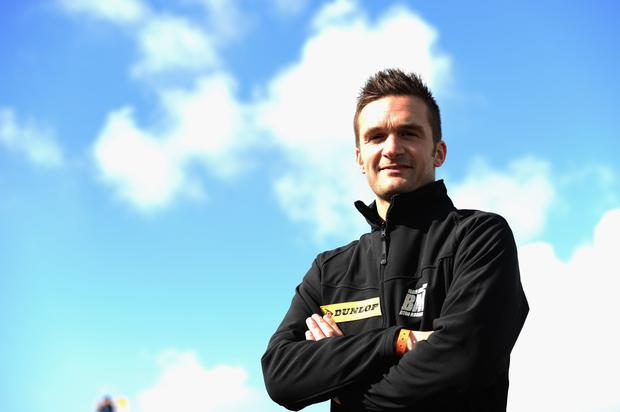 Raring to go: Colin Turkington