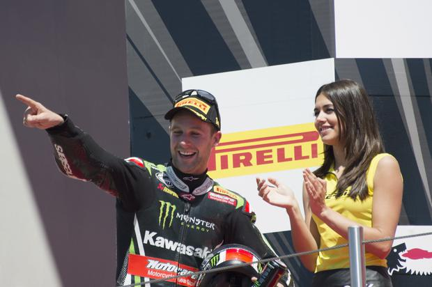 Right road: Jonathan Rea has surged clear in world title bid