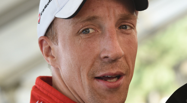 Aiming high: Kris Meeke wants a podium finish at Rally Italia