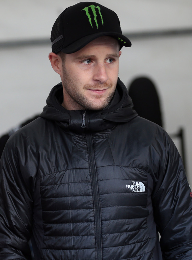 Welcome break: Jonathan Rea is relaxing on the Isle of Man