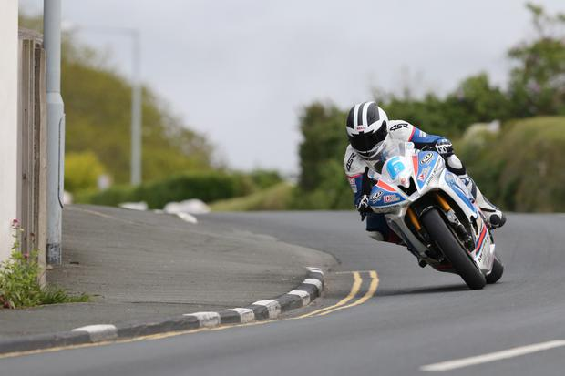Quick return: William Dunlop on the CD Racing Yamaha which will feature at Kells Road Races
