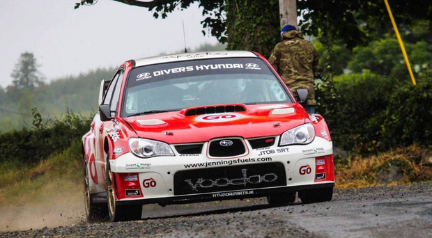 In gear: Garry Jennings won the Joule Donegal International