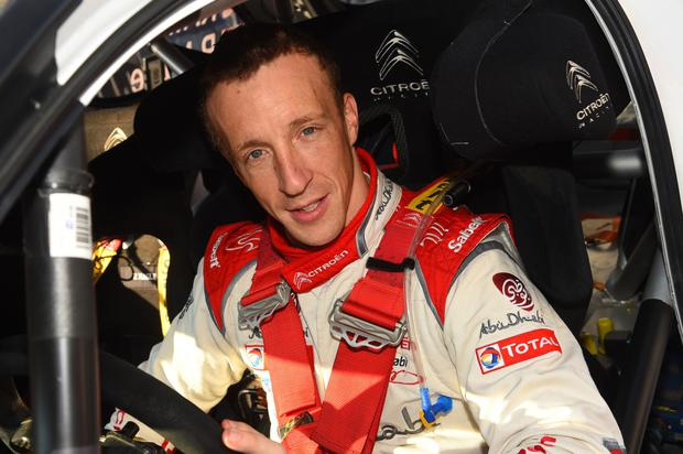 Stepping up: Kris Meeke