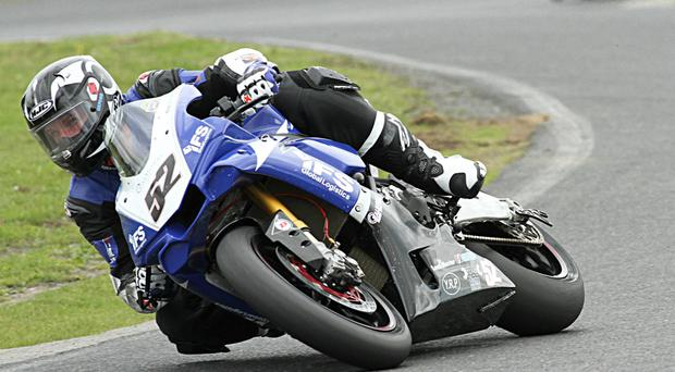 Back in the saddle: Ryan Rainey has returned to racing and will be in action at Bishopcourt