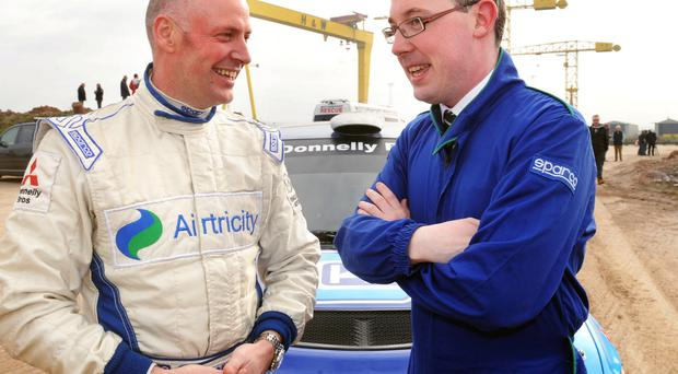 Just champion: Donagh Kelly will spend night outdoors
